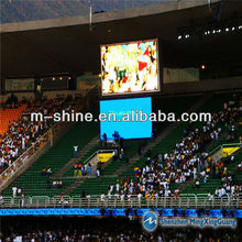 HD full color P10 cricket live scores led display screen