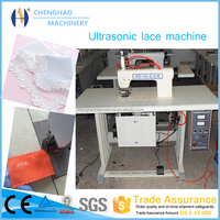 Hot Sale Ultrasonic Non woven Bag Making Lace Machine With CE, China Leading Manufacturer
