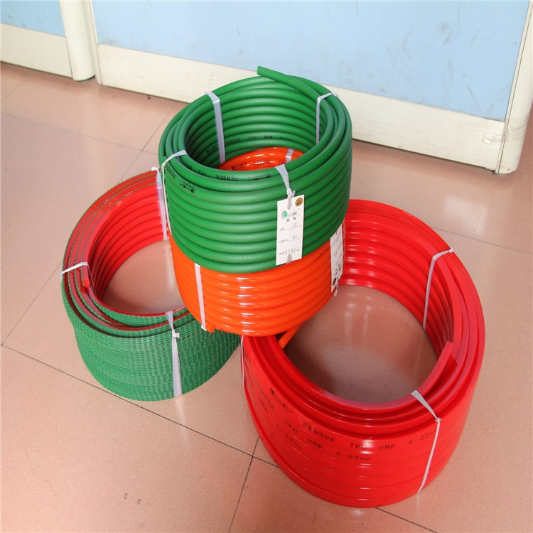 extruded round green polycord belt pu polyurethane round belt