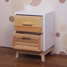 two drawers chest bed side stands night table furniture