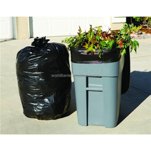 Factory direct supply good and cheap price black garden waste bag made from recycled material