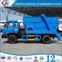 2016 factory selling 4*2 4ton 5ton swing arm garbage truck for sale