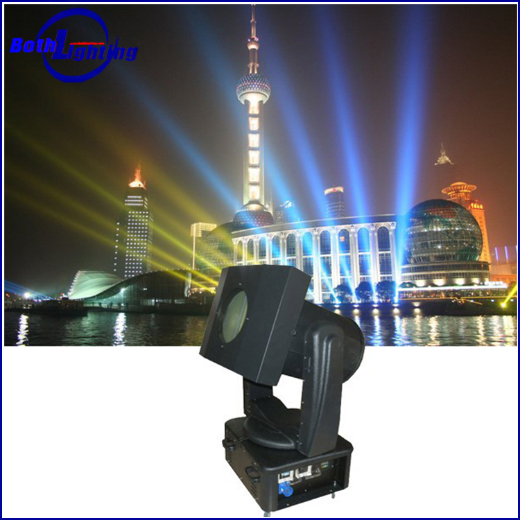 Super power Moving head XHA lamp tracker outdoor searchlight sky beam light 7000w