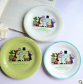 Moomin plate with funny design