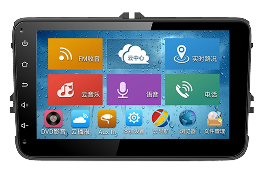 OEM manufacturer 8 inch double din universal car dvd player with canbus/bt/gps/mp3/fm/am