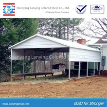 Cheap sheet metal roof carports
