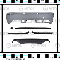 For BMW E46 4D Rear Bumper(M-TECH Look) Car Body Kits