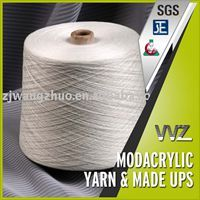 5.3s-30s/2 Modacrylic Flame Retardant Yarn for Weaving and dyed color acceptable