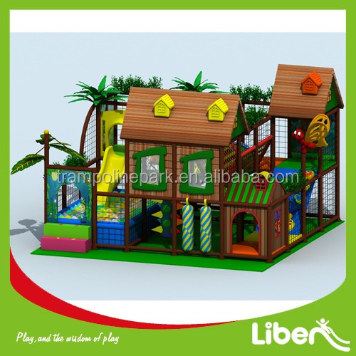 Durable popular use commercial equipment playground equipment for mcdonalds