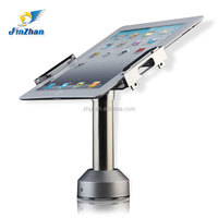 Secure mount for ipad with anti-theft lock metal material with charger, tablet desktop stand,new gadgets 2014