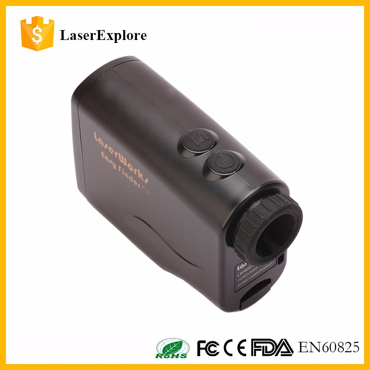 Golf Laser Range Finder Scope 600 Yards Hunting Distance Rangefinder Slope Angle Measurer