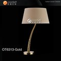 dimmable touch led table lamp,lowes table lamps OT6313-Gold