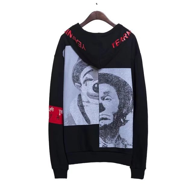 Custom OEM Men Unisex Hoodies Manufacturer Anime Printing Oversize Fashion Cool Streetwear Hoodies With Pocket