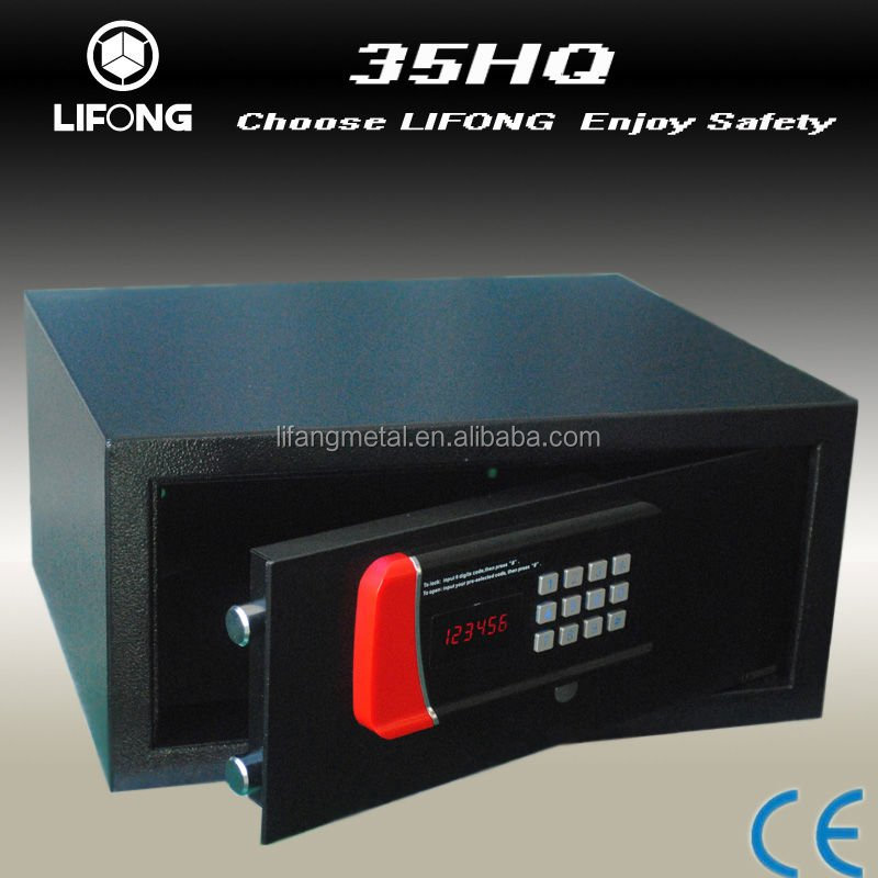 Hotel laptap digital biometic cheap hotel room laptop safe for hotel