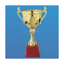Wholesale die casting sport souvenirs plastic trophy figures cup/cheap trophies and medals