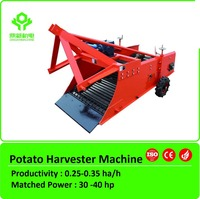 2015 New potato harvester & garlic harvester potato digger machine