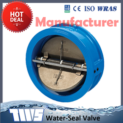 Low Price Pneumatic Cf8m Butterfly Check Valve Dn100
