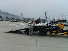 2013New Foton 4x2 flat bed road wrecker truck