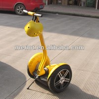 2 wheels self balancing standing up electric motocycle