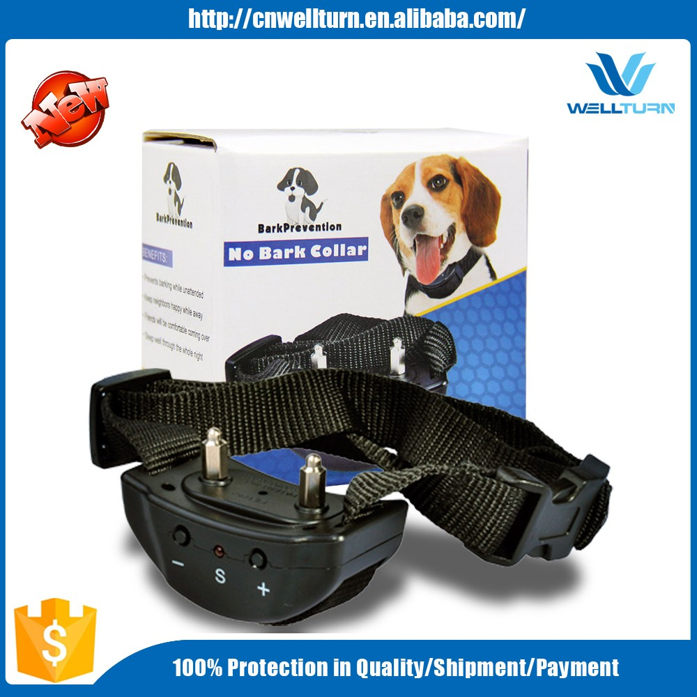 New business opportunity anti-bark collar dog electronic shock training collar