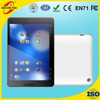 7.85 inch MTK8382 quad core tablet pc with 3G phone call function 1G 16G GPS FM BT