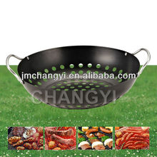 Wholesale outdoor high quality bbq tool korean happy call gril pan