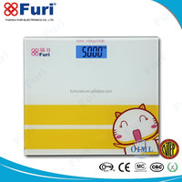 China Manufacturer Walmart Presion Glass LCD electronic digital bathroom scale