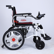 Portable shopping electric wheelchair