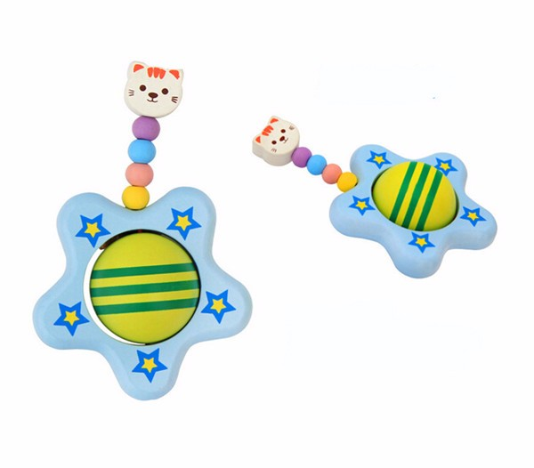 hand bell musical instrument tambourine rattle toys