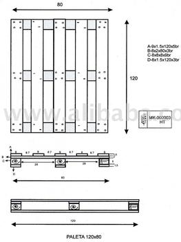 Euro pallets buy pallet product on - Dimension palette europe ...