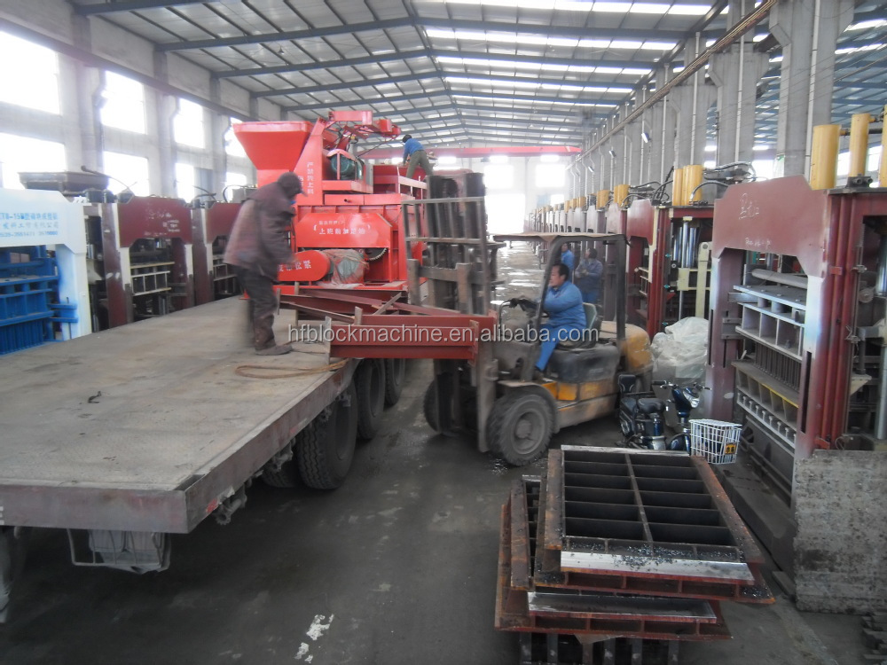 automatic brick making machine price QTJ4-20 semi-automatic concrete block making machine