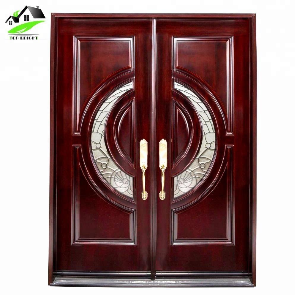 Guangzhou China New Modern Fancy Latest Models Design Wood Door