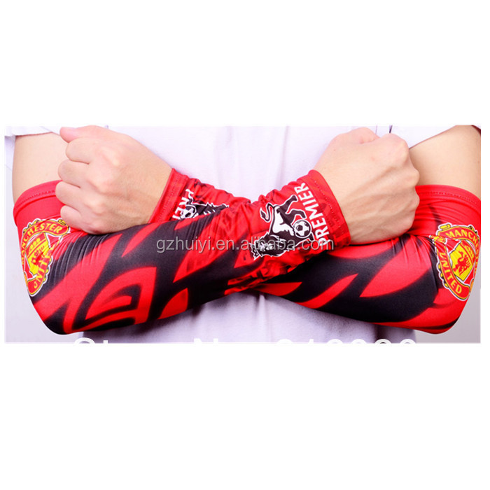 Custom Spandex Sports Arm Sleeves