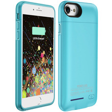 Wholesale External power bank mobile phone battery pack cover for apple iphone 7 plus/iphone 6 plus