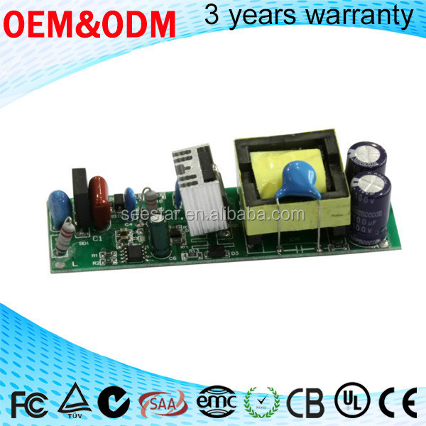 30w~50w factory price AC 85V-305V to DC 28V-38V LED Electronic Transformer less led Driver power supply 1500ma
