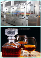 small automatic wine filling machine/pomegranate wine/hydraulic press for vodka wine
