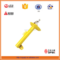 oil/gas-filled adjustable suspension shock absorber