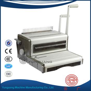 wire ring binder machine