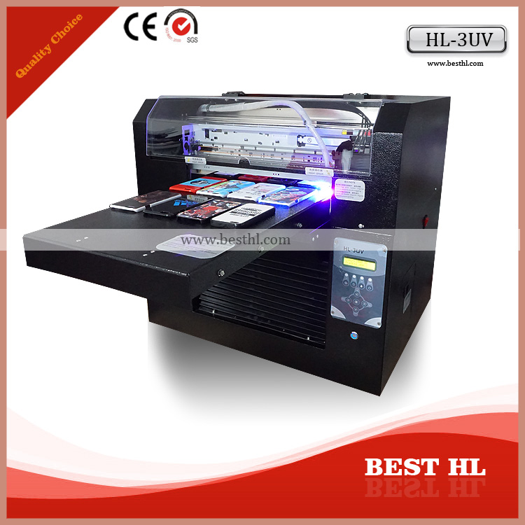 Best popular uv led cylinder printing machine print cookie tin printer bottles printer metal bottle printer with high resolution