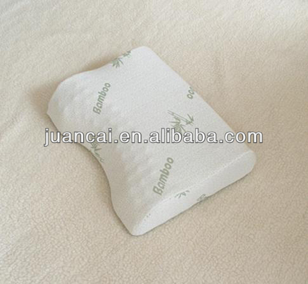 Multi-purpose Crescent Memory Foam Massaging Pillow