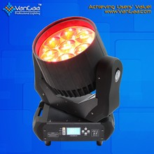 VanGaa Beam Wash 7x40W RGBW 4in1 LED Moving Head Zoom Light With ISO9001 Certificate