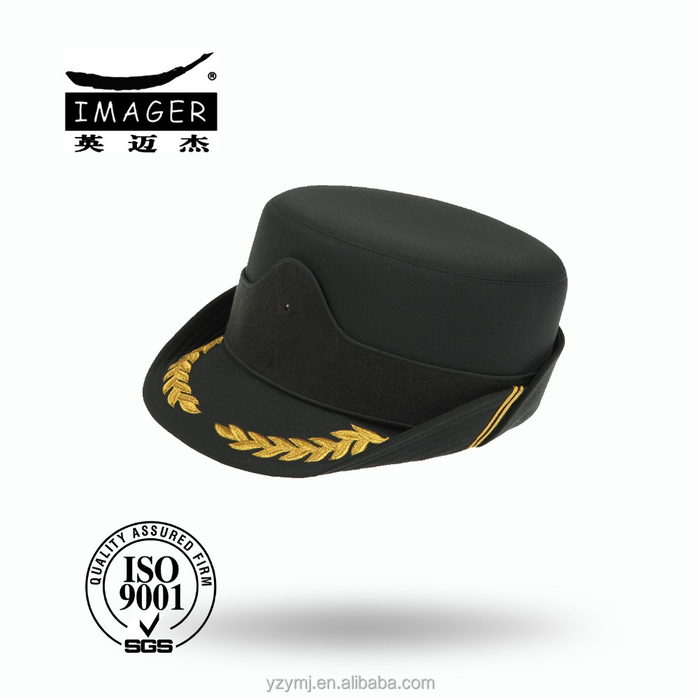 Professional Customized 100% Cotton Military Women Republican Marshal Hat for 2016