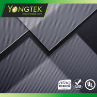 Polystyrene material P\patterned diffuser sheet and film to reduce Ugr