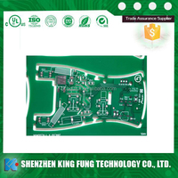 multi-media rigid FR-4 HIGH TG laminate multilayer printed circuit board with factory price by King Fung pcb manufacturer