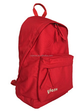 Wholesale own brand Yfanx solid contracted preppy style school bag