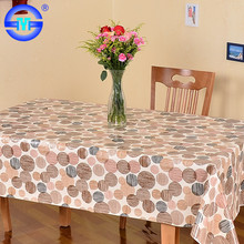 Hot selling flannelback table cover laminate table cover