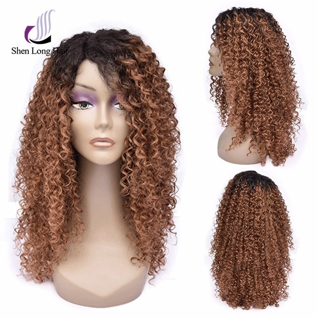 Human hair kinky curly u part wig full/front lace hair wig with wholesale price