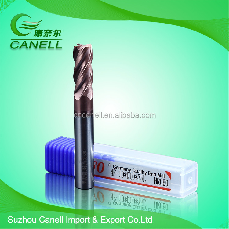 10mm carbide taper square wood end milling bit