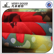 cheap price FDY printing heavy quality jersey knit fabric
