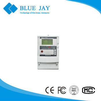 DTSD341-MA2 Three Phase High Accuracy energy meter100V 1.5-6A 0.3-1.2A 5-10A LCD 2*RS485 active reactive energy meter
